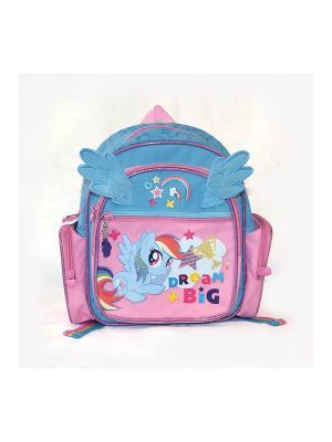 Рюкзак детский Gulliver. Цвет: бирюзовый, розовый