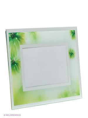 Фоторамка blossom VELD-CO. Цвет: зеленый, серебристый