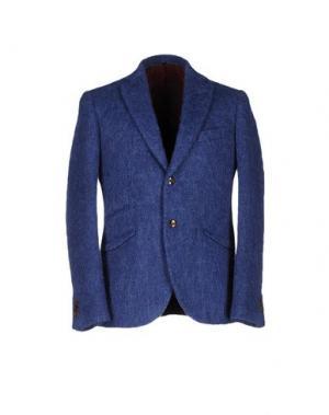 Пиджак MAURIZIO MIRI. Цвет: синий
