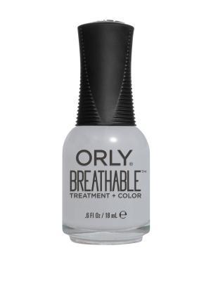 Профессиональный дышащий уход(цвет) за ногтями 906 POWER PACKED ORLY. Цвет: светло-серый