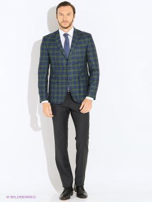 Пиджак MONDIGO. Цвет: синий, зеленый