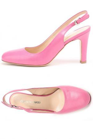 Босоножки DANIELE TUCCI. Цвет: розовый