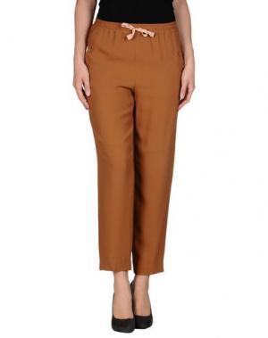 Повседневные брюки MAURO GRIFONI. Цвет: коричневый