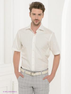 Рубашка Donatto. Цвет: молочный