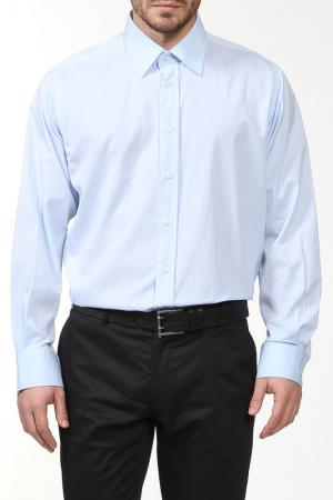 Рубашка REIKARTZ. Цвет: голубой