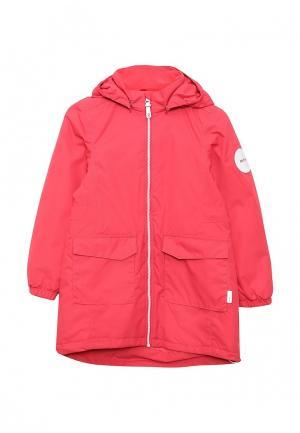 Куртка утепленная Reima. Цвет: розовый