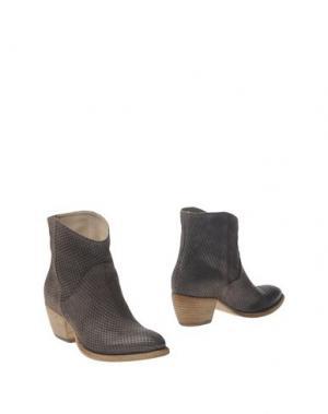 Полусапоги и высокие ботинки FRU.IT. Цвет: темно-коричневый