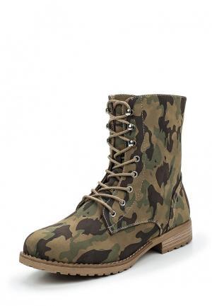 Ботинки Kayla. Цвет: хаки