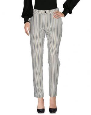 Повседневные брюки LEON & HARPER. Цвет: слоновая кость