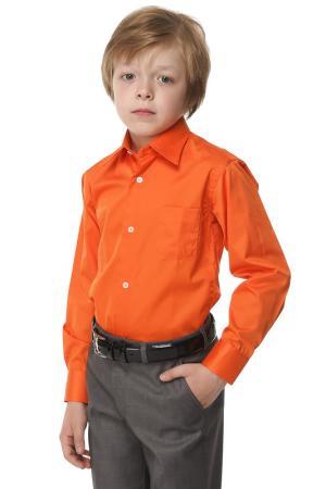 Рубашка Herdal. Цвет: оранжевый