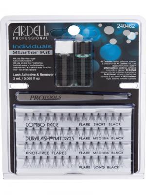 Стартовый набор для наращивания ресниц ARDELL. Цвет: черный