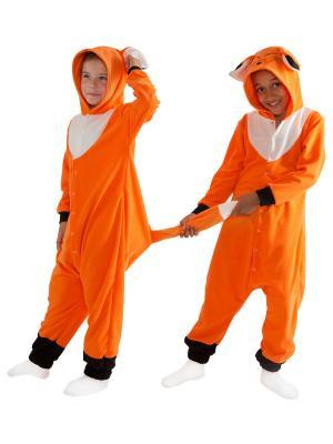 Комбинезон кигуруми ЛИСА HandyWear. Цвет: оранжевый