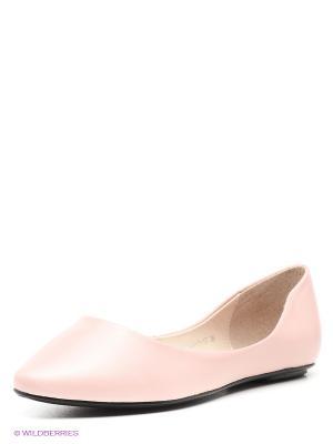 Балетки Eva Mayer. Цвет: бледно-розовый
