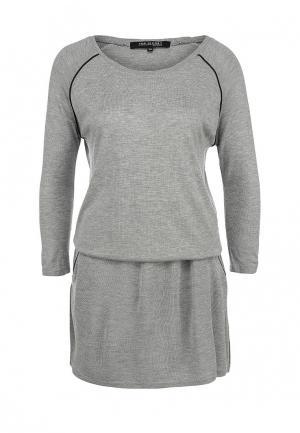 Платье Top Secret. Цвет: серый