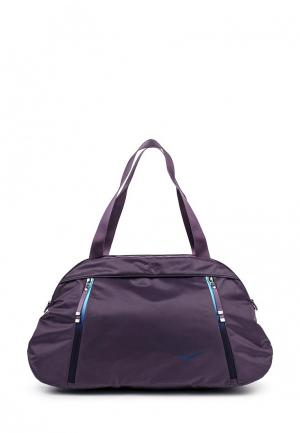 Сумка спортивная Nike. Цвет: фиолетовый