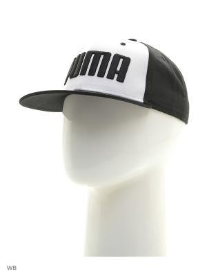 Бейсболка ESS Flatbrim Cap Puma. Цвет: черный