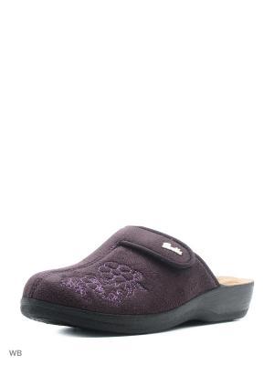 Тапочки AKINALBELLA. Цвет: фиолетовый