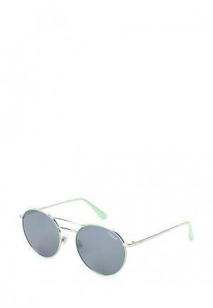Очки солнцезащитные Vogue® Eyewear. Цвет: бирюзовый