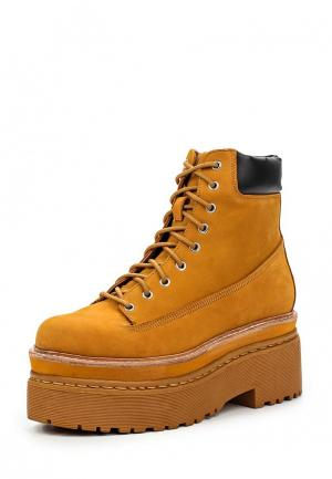 Ботинки Jeffrey Campbell. Цвет: оранжевый