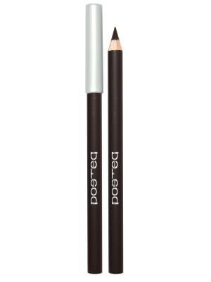 Контурный карандаш для глаз, тон 13 (коричневый матт) POETEQ. Цвет: коричневый