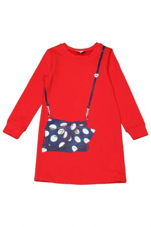 Платье Little Marc Jacobs. Цвет: красный