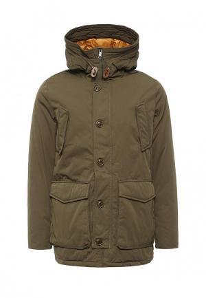 Куртка утепленная Warren Webber. Цвет: разноцветный