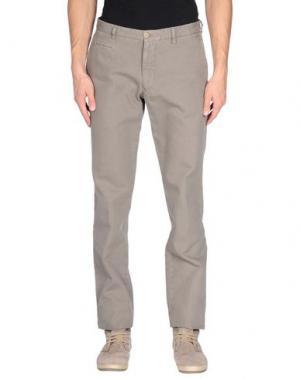 Повседневные брюки ALTEA. Цвет: голубиный серый