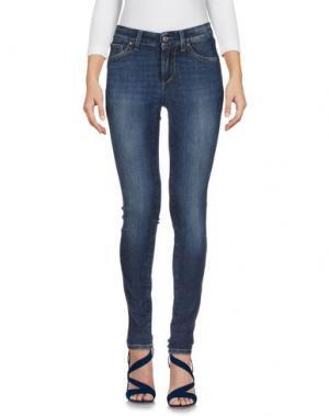 Джинсовые брюки S.O.S by ORZA STUDIO. Цвет: синий