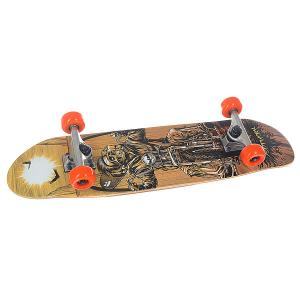 Скейт мини круизер  Complete City Cruiser Skull 7.87 x 30.8 (78.2 см) Footwork. Цвет: мультиколор