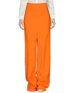 Повседневные брюки SIMONA CORSELLINI. Цвет: оранжевый