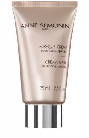 Восстанавливающая крем-маска Anne Semonin. Цвет: бесцветный