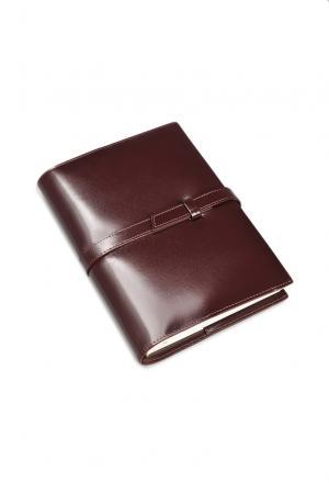 Ежедневник-портфолио 111700 Nazarenogabrielli. Цвет: коричневый