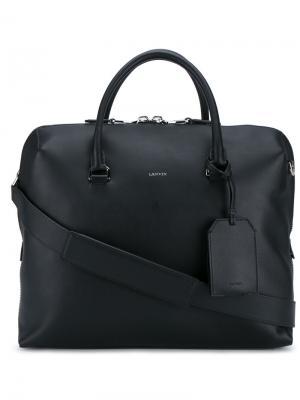 Дорожная сумка Lanvin. Цвет: чёрный