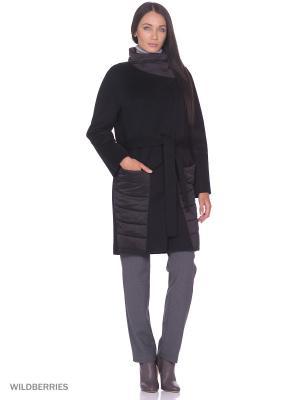 Пальто Anora. Цвет: черный