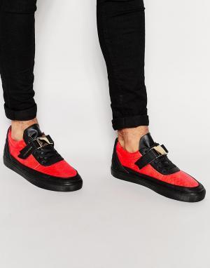 Cayler & Sons Низкие кроссовки Chutoro. Цвет: красный