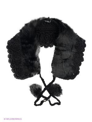 Шарф-воротник Модные истории. Цвет: черный