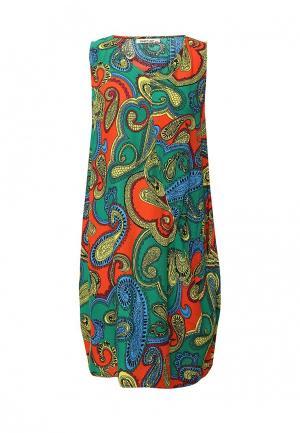 Платье Sweet Lady. Цвет: разноцветный