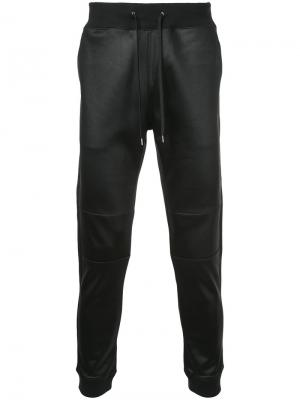 Зауженные спортивные брюки Loveless. Цвет: чёрный