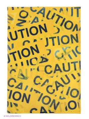 Обложка для автодокументов Оранжевый скотч Mitya Veselkov. Цвет: желтый
