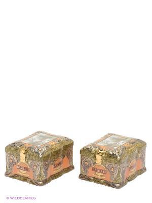 Чайный набор Янтарь Basilur. Цвет: черный