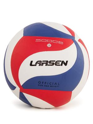 Мяч волейбольный VB-ECE-5000B Larsen. Цвет: белый, красный, синий