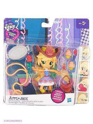 Мини-кукла Hasbro. Цвет: оранжевый