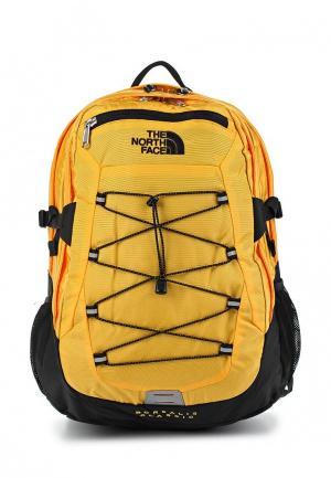 Рюкзак The North Face. Цвет: желтый