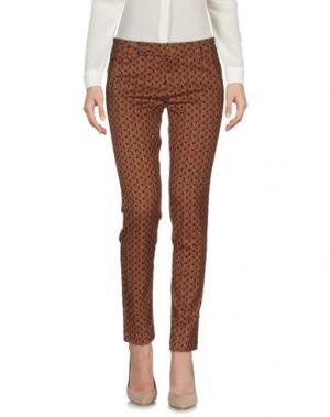 Повседневные брюки ALYSI. Цвет: коричневый