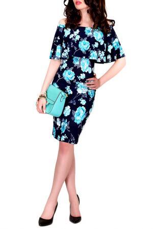Платье MONT PELLIER. Цвет: мятная орхидея
