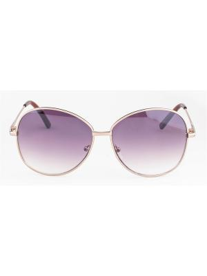 Солнцезащитные очки MLook. Цвет: коричневый