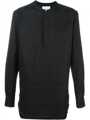 Рубашка Hanaki Public School. Цвет: чёрный