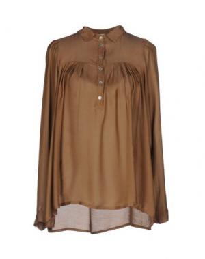 Блузка VICOLO. Цвет: хаки