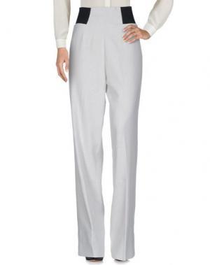 Повседневные брюки EMILIANO RINALDI. Цвет: светло-серый