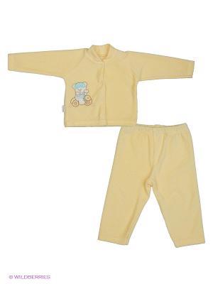 Комплект одежды Мелонс. Цвет: желтый